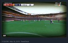 Arsenal Vs Manchester United - Keren! Melihat Gol Xhaka dari Mata De Gea