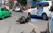 Video Viral Anak Muda Nyetir Sambil Mabuk, Nabrak 5 Motor Malah Joged