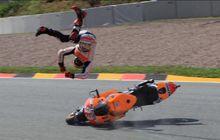 Jatuh dari Motor di Kecepatan 350 Km/Jam, Marc Marquez Sempat Gemeteran Naik Motor Lagi