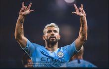 Sergio Aguero Cuma Kalah dari Lionel Messi, tapi Tak Masuk Timnas Argentina