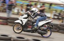 Gak Ada Takutnya, Honda Vario 150 Lawan CBR250RR di Drag Bike Resmi