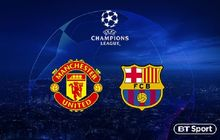 Manchester United Vs Barcelona - Prakiraan Starter, Statistik dan Bursa Prediksi