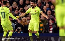2 striker pilihan lionel messi dan luis suarez untuk barcelona
