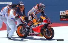 MotoGP Spanyol 2019 - Valentino Rossi Tertarik dengan Masalah yang Menimpa Marc Marquez