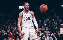 Abaikan Perseteruan dengan Nets, Ben Simmons Mampu Tampil Dominan