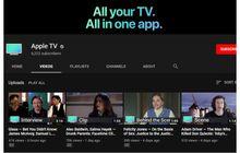 Serius Kerjakan Apple TV, Apple Luncurkan Kanal Youtube 'Apple TV'