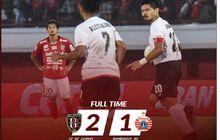 Persija Ditekuk Bali United di Leg 1 Babak 8 Besar Piala Indonesia