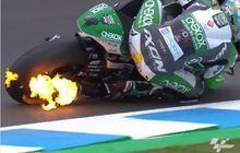 Knalpot Keluar Api di MotoGP, Ini Penjelasan Fenoma Backfire dan Afterfire