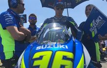 motogp inggris 2019 - suzuki umumkan pembalap pengganti joan mir