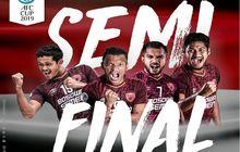 hasil lengkap dan jadwal semifinal piala afc 2019, psm makassar balas di bogor