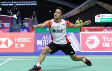 Piala Sudirman 2019 - Anthony Ginting Kalah, Indonesia Tertinggal 0-2