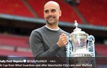 Guardiola Jadi Manajer Ketiga asal Spanyol yang Sukses Boyong Piala FA