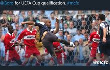 KILAS BALIK - Momen Kocak Kiper Manchester City Turun Jadi Striker di Liga Inggris