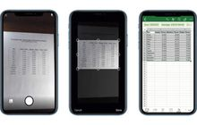Kini Kamu Bisa Ubah Foto Tabel Menjadi Spreadsheet di Excel iPhone