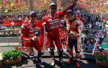 klasemen setelah motogp italia 2019 - marquez masih di puncak, petrucci geser rossi