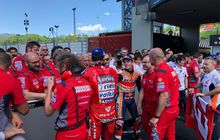 Hasil MotoGP Italia 2019 - Gagal Hat-trick, Marc Marquez Tetap Bahagia Penuhi Target