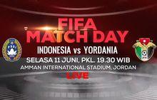 Link Streaming Timnas Indonesia Vs Timnas Yordania