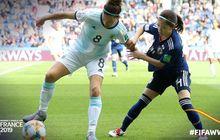 Piala Dunia Wanita - Argentina Tahan Imbang Jepang, Tim Asia Terkuat di Turnamen