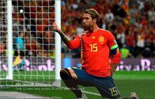 Urusan Tendangan Penalti, Sergio Ramos Lebih Jago dari Lionel Messi