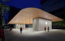 Jelang Apple Event, Beberapa Apple Store Kembali ke Desain Pajangan 3D