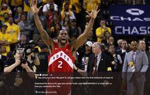 NBA Finals 2019 - Menang, Toronto Raptors Cetak Sejarah di NBA