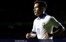 antar brasil menang  di copa america 2019, coutinho buat pengakuan