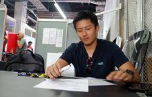Rio Haryanto Ingin Terus Berkembang pada Debut di GT World Challenge Asia