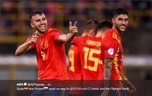 Hasil Euro U-21 2019, Spanyol Pastikan Tiket ke Olimpiade 2020