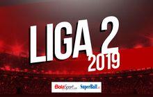 jadwal pekan ke-13 liga 2 2019, dua pemuncak main di kandang