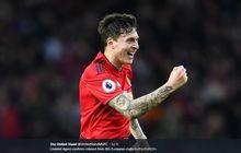 Diincar Barcelona, Lindelof: Tidak Mau, Saya Bahagia di Man United