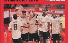 2 Menit di Lapangan, Pemain 18 Tahun Man United Cetak Gol Roket di Australia