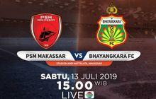 Link Live Streaming PSM Makassar Vs Bhayangkara FC, Laga Pekan Kedelapan Liga 1 2019