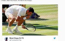 Sang GOAT! Alasan Novak Djokovic Selalu Makan Rumput Setelah Menjuarai WImbledon