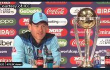 Juara Piala Dunia, Kapten Timnas Kriket Inggris: Allah Bersama Kami