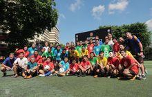 selain big match, icc 2019 singapura selenggarakan kampanye sosial