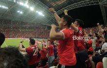 berita foto - kemeriahan international champions cup 2019 singapura hari ke-2