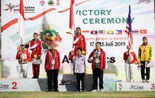 asean schools games 2019 - hari ketiga, indonesia masih di puncak