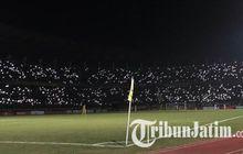 lampu stadion gbt sempat padam, persebaya ambil tindakan cepat