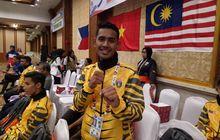asean schools games 2019 - atlet pencak silat malaysia puji pendukung indonesia