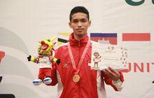 asean schools games 2019 - zaki persembahkan emas perdana dari pencak silat