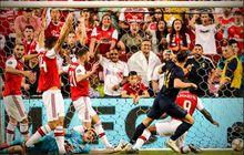 video - gareth bale cuma disambut satu pemain setelah bikin gol