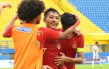 wonderkid persib cetak gol, indonesia  vs malaysia imbang di babak pertama