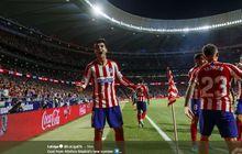 Diwarnai 'Adu Dikartu Merah', Atletico Unggul 1-0 atas Getafe