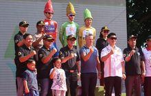 bank bri tour d'indonesia 2019 -  etape pertama borobudur-ngawi