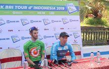 juara etape pertama tour d'indonesia 2019 sedikit terganggu cuaca panas