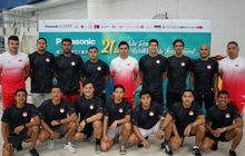 medali perak dari panasonic 21st asia pacific water polo tournament