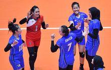 kejuaraan asia senior 2019 - timnas voli putri indonesia lolos babak 8 besar