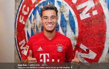 10 tahun tak ganti pemakai, nomor 10 muenchen resmi dipakai coutinho