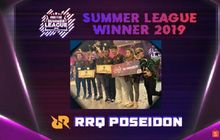 kalahkan 11 tim, rrq poseidon juara free fire summer league 2019