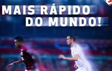jadi pesepak bola tercepat, calon striker brasil lampaui gareth bale